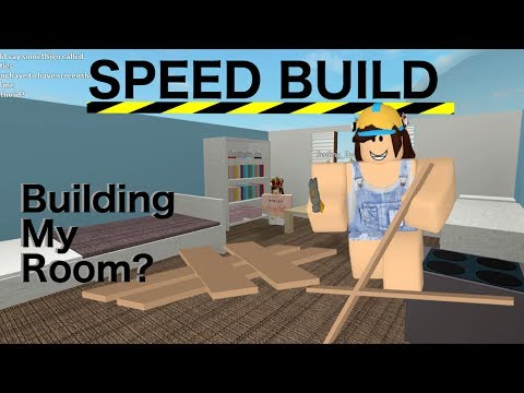 Building My Room | Speed Build | Roblox
