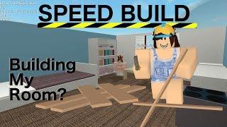 Building My Room | Speed Build | Roblox