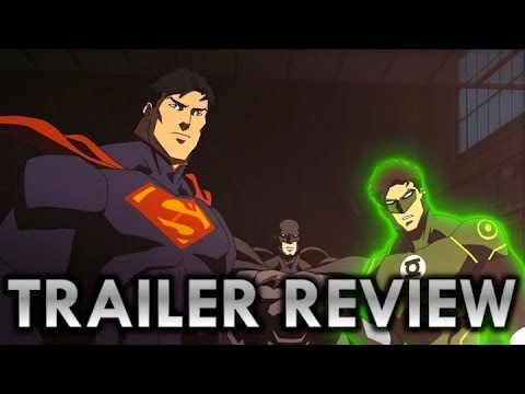RMN: Justice League WAR Trailer Review