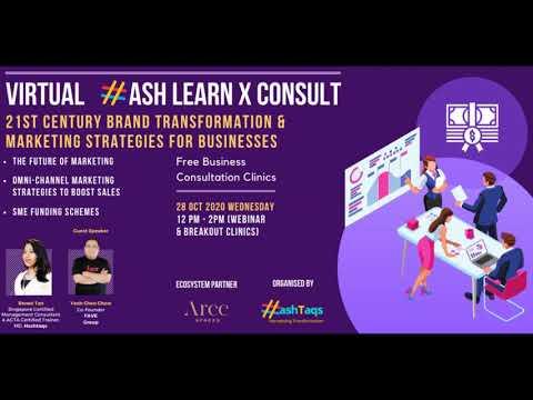 Virtual HASH Cross-Border LearnXConsult 28 October 2020: 21st Century Brand Transformation