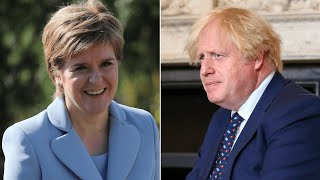 video: Boris Johnson insists he would be 'delighted' to meet Nicola Sturgeon amid snubbing row