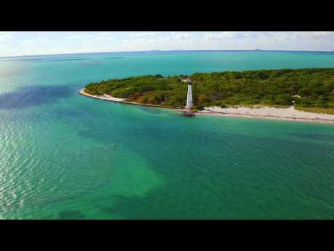 Florida Travel: Fly Above Bill Baggs Cape Florida State Park