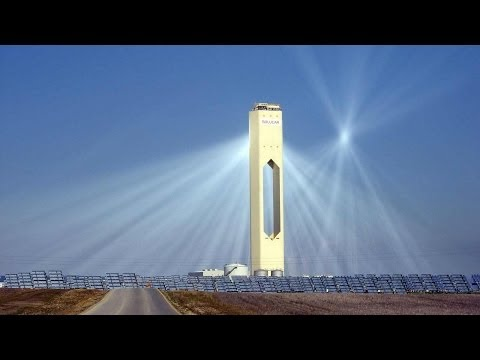 The Solar Power Towers of Seville, Spain - Solucar Complex