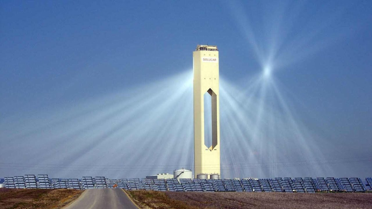 The Solar Power Towers of Seville, Spain - Solucar Complex - YouTube