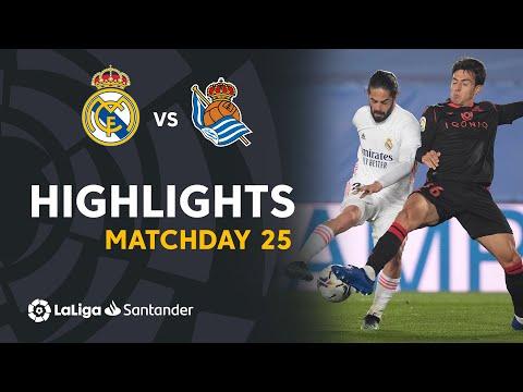 Real Madrid Real Sociedad Goals And Highlights