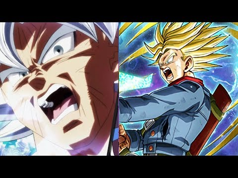 Goku vs Trunks Power Levels (Dragon Ball...