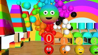 Learn Numbers For Toddlers - Learn Colors - Learn Numbers