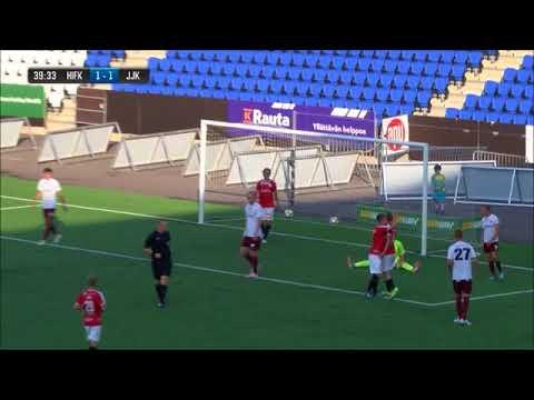 HIFK-JJK 2-2 (2-1) 27.7.2018 - Maalikooste