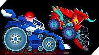 ГРОЗНЫЙ BOSS МАШИНКА - Игра Car Eats Car 3 Хищные машинки # 9 Игра про машинки, гонки
