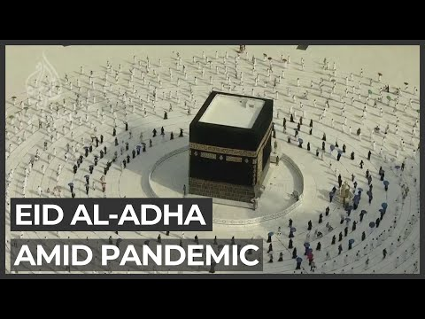 Eid al-Adha holiday: Low-key celebrations for Muslims amid pandemic