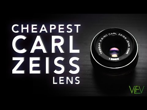 Cheapest CARL ZEISS Lens | 50mm 2.8 TEST VIDEO (re-post)