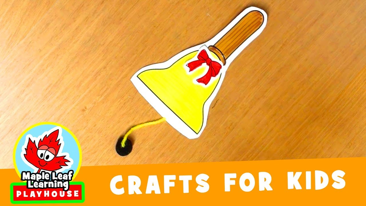 f191f567a Christmas Bell Craft for Kids