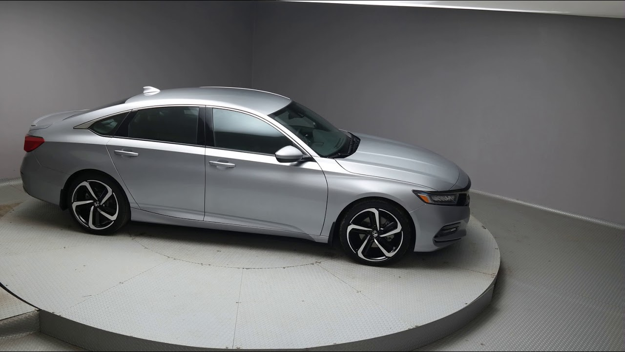 2018 Lunar Silver Metallic Honda Accord Sedan #J034 - YouTube