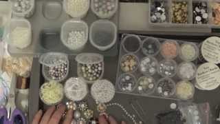 How I make My Flower Centers and Embellishment