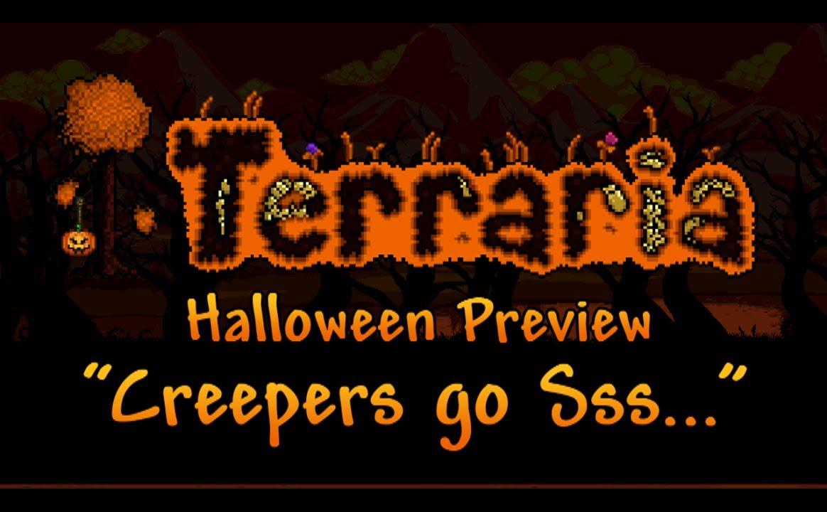 Terraria - Halloween preview: Creeper & Leprechaun costumes, Jack ...