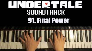 Undertale OST - 91. Final Power (Piano Cover by Amosdoll)