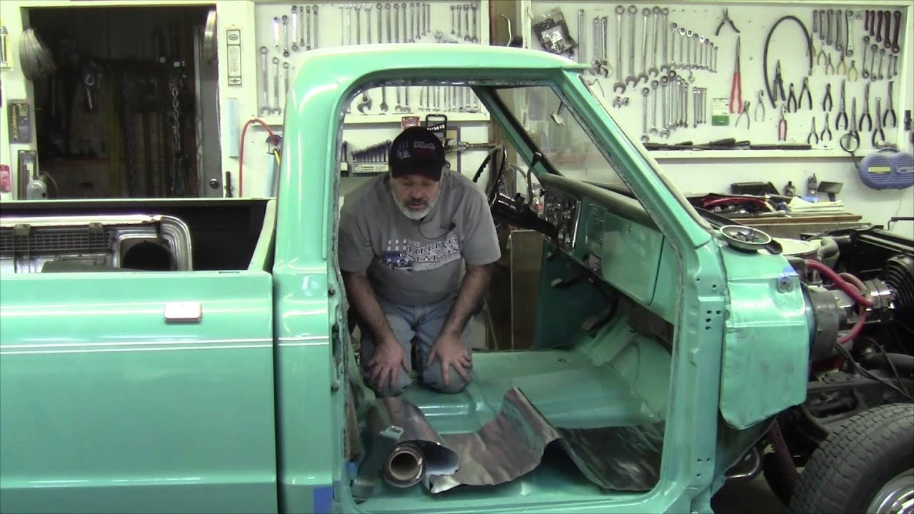 diy sound dampening installation in your vehicle youtube. Black Bedroom Furniture Sets. Home Design Ideas