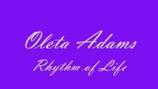 Oleta Adams  The Rhythm of Life (With Lyrics)