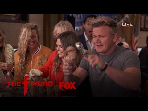Rachel Bilson & Gordon Ramsay Partake In An Ice Cream Scooping Contest | Season 1 Ep. 5 | THE F WORD