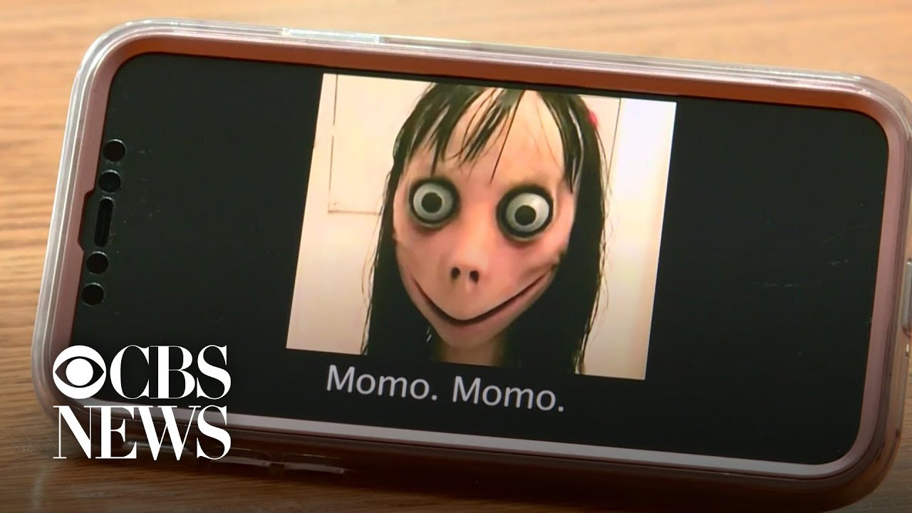 """Momo challenge"" frightens kids, worries parents  #Trend"