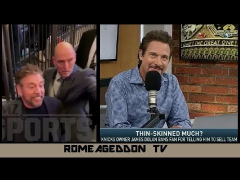 Jim Rome on James Dolan kicking out fan at Knicks game - Mar 11, 2019 Mp3