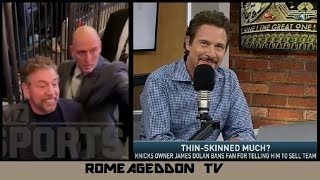Jim Rome on James Dolan kicking out fan at Knicks game - Mar 11, 2019