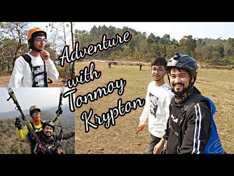 Paragliding with Tonmoy