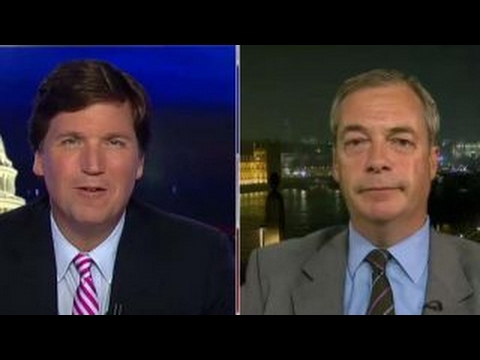 Farage: 'Hysterical' libs trying to associate me with Putin
