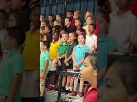 Gianna's 2nd Grade Concert at Corkscrew Elementary School