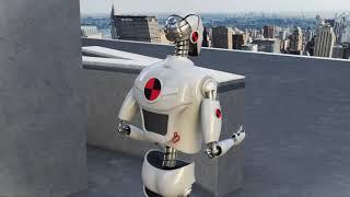 Groupe Lépine LHA 2017 3D Animation Spot Robot
