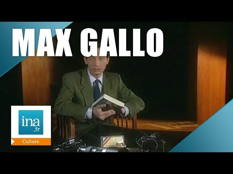 Max Gallo : L'amour au temps des solitudes | Archive INA