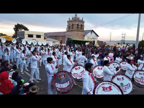 ACORA 2016 - Morenada Confraternidad ..Banda Orquesta LA GRANDE