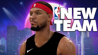 NBA 2K20 MyCAREER #9 - GIANNIS GOT INJURED!! NEW TEAM & NEW PLAYER BUILD IS OP!!!