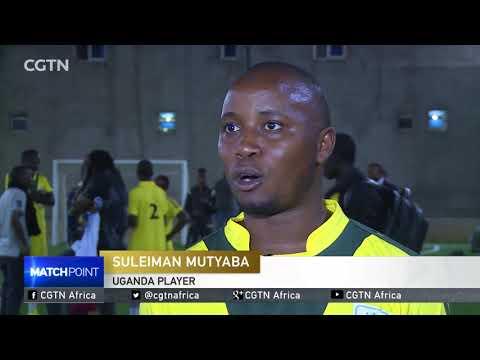 Futsal match pitting Uganda & Somali players for peace