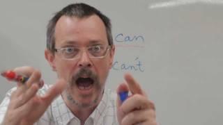 CAN vs CAN'T pronunciation 영어공부 영어발음 이익훈어학원강남