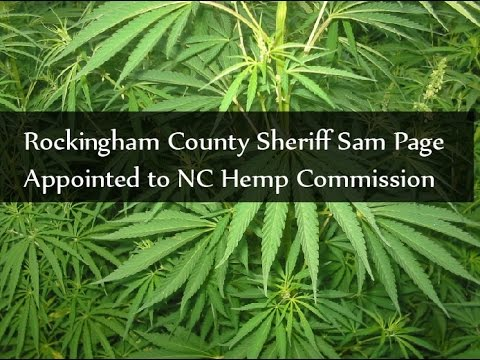 Sheriff Sam Page Appointed To Hemp Commission