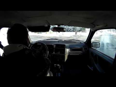 Ford Sierra Mk1 Snow Drift Onboard