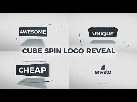 Cube Spin Logo Reveal | Free After Effects Templates From Videohive ...