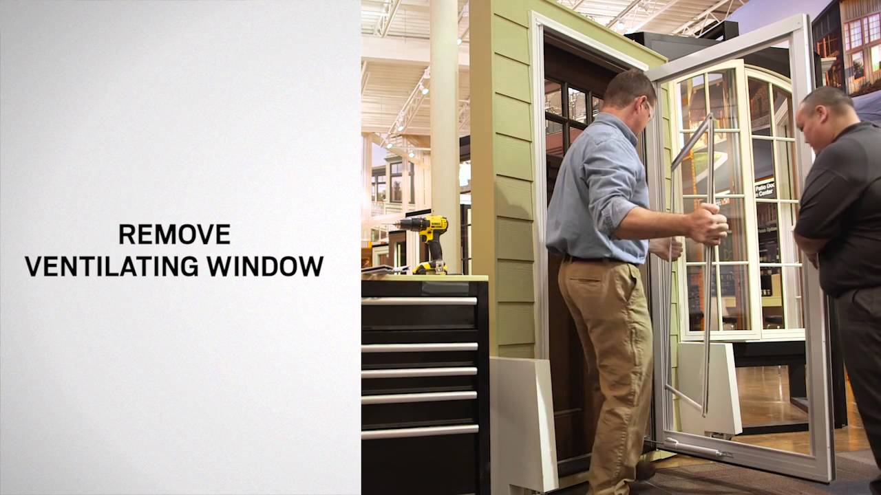 Ventilating Window Replacement On Andersen Full Lite Self Storing
