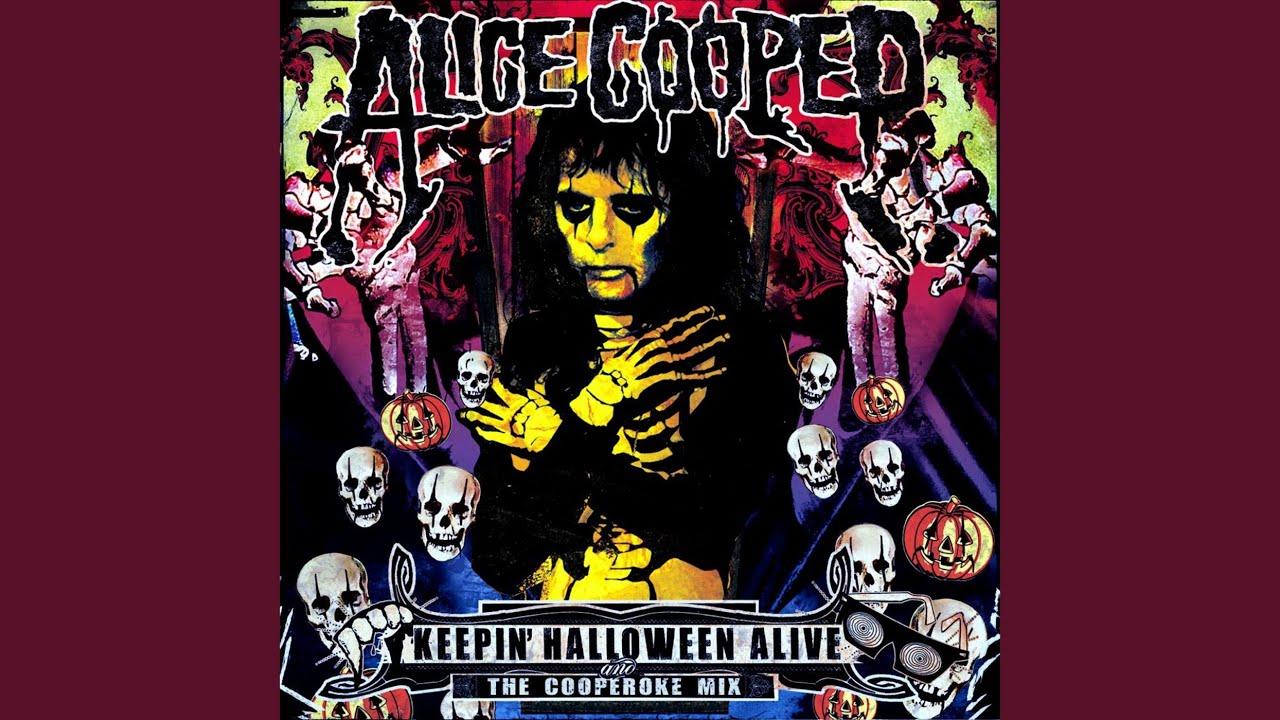 keepin halloween alive official alice cooper