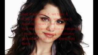 me and my girls selena Gomez lyrics