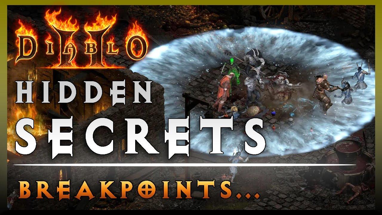 Diablo 2 Hidden Secrets: Breakpoints!