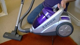 Hoover Sonix 2300 Watt Bagless Vacuum Cleaner Unboxing & First Look