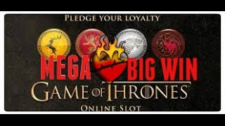 GAME OF THRONES SLOT.  MEGA BIG WIN!! PART 2 OF 2(1.20 STAKE LOVELY MEGA BIG WIN BONUS., 2015-07-16T15:11:08.000Z)