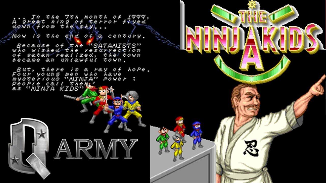 Ninja kids game online