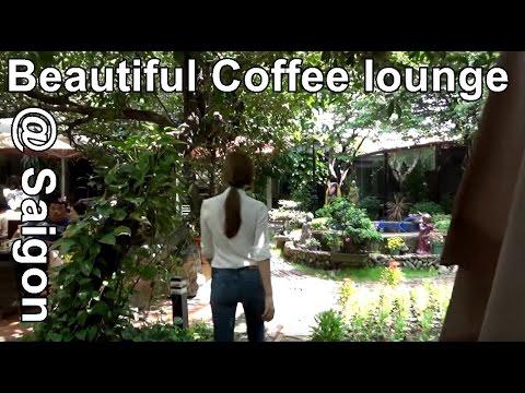 Beautiful Coffee in SaiGon, Ho Chi Minh City, Vietnam
