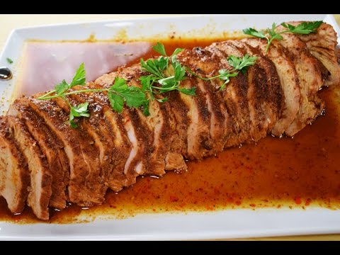 Pork Loin in Chipotle Sauce, easy and delicious!!