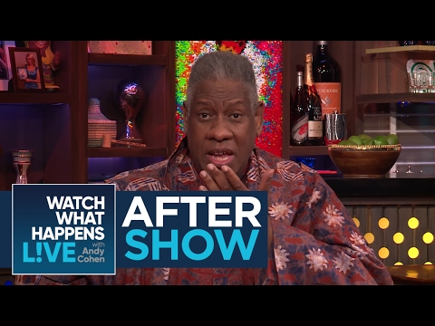 After Show: Does Andre Leon Talley Like Mariah Carey's Fashion? - WWHL