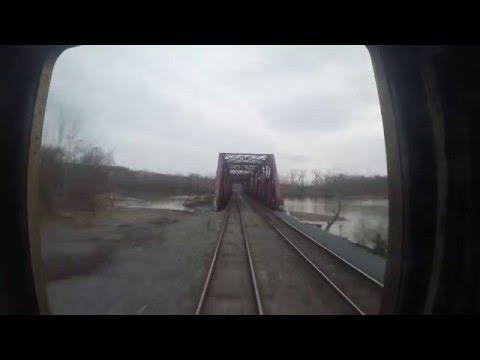 Amtrak Hudson Line: Hudson to Albany-Rensselaer