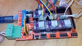 Контроллер RAMPS и управление шаговыми двигателями.(, 2015-10-14T15:41:46.000Z)